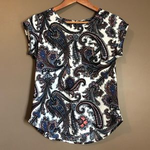 3 for $20! Ann Taylor paisley patterned tee
